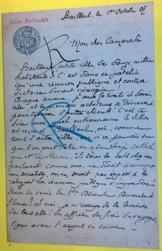 A 1907 Natalis Dumez à Victor Diligent.jpg